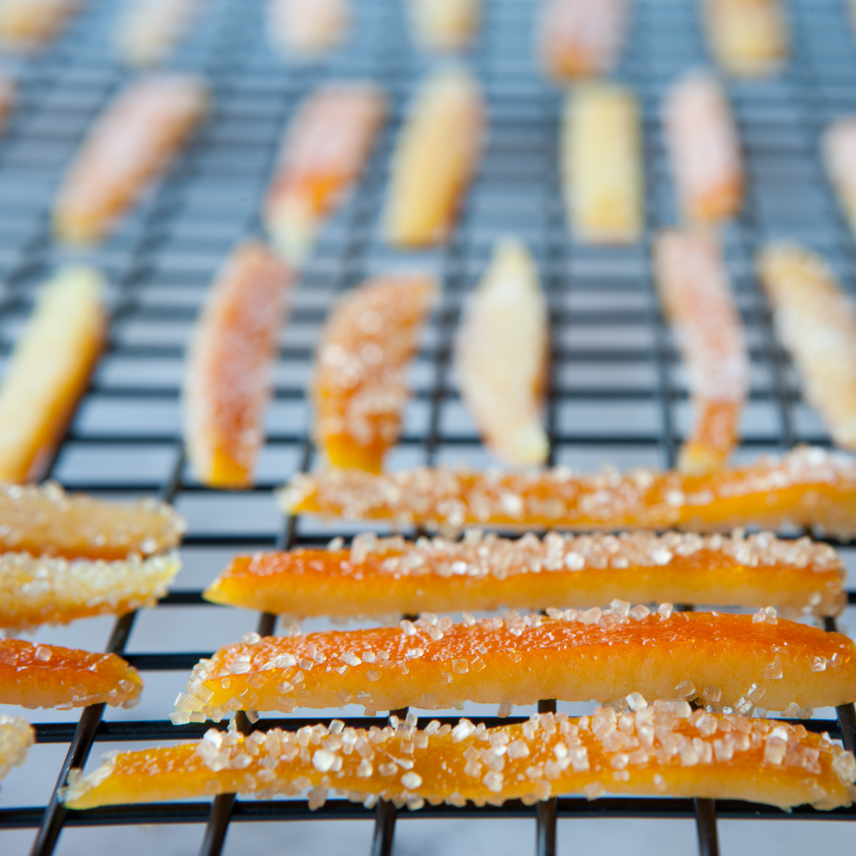Orangettes – Candied Orange Peel Dipped in Chocolate ...