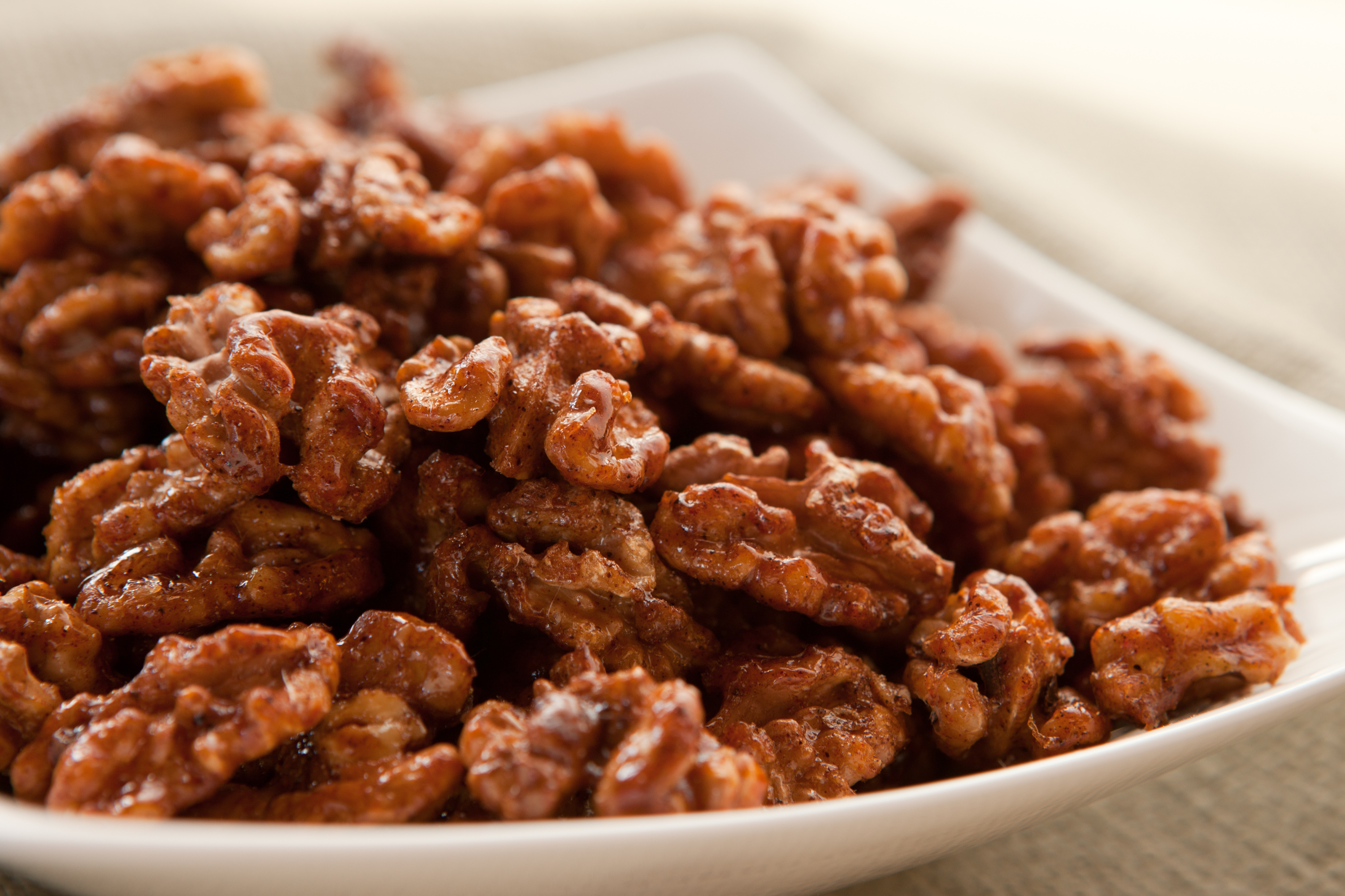 Spicy Candied Pecans (or Walnuts) | cooking-spree