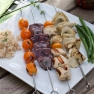 Citrusy Chicken Kabobs with Kumquats & Fennel