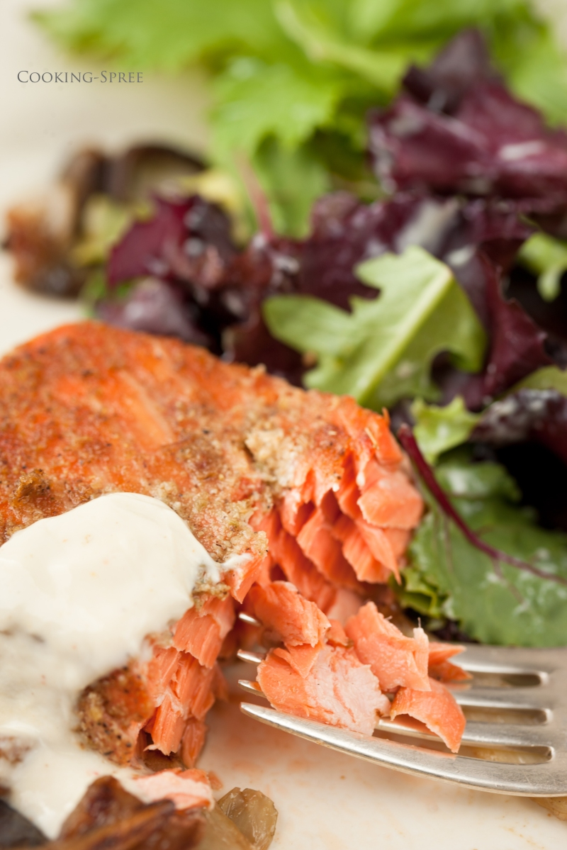 Grilled Salmon with Fennel, two ways | cooking-spree