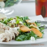 Champagne Chicken & Peach Salad-3
