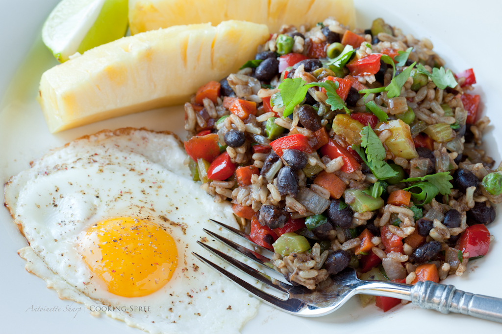 Gallo Pinto – Costa Rican rice & beans   cooking-spree